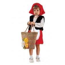 Костюм карнавальный Красная шапочка (мех) размер 28 (детский) (Батик, 111-28)