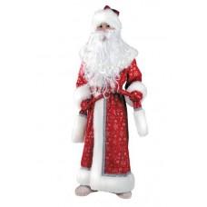 Костюм карнавальный Дед Мороз плюш, размер 32-34 (детский) (Батик, 178-32-34)