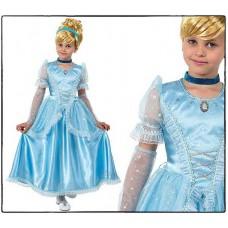 Костюм карнавальный ДИСНЕЙ Принцесса Золушка (текстиль) размер 28 (детский)