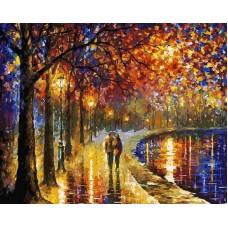 Раскраски по номерам Пара у озера 50x40 см