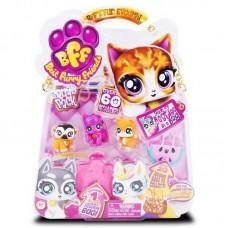 Best Furry Friends набор животных с аксессуарами, на блистере, 3 фигурки+ 1 сюрприз ассортимент C