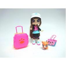 Best Furry Friends Кукла с питомцем Cassandra & Dash, с аксессуарами, на блистере
