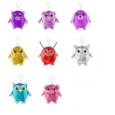 Shimmeez (Шиммиз), мягконабивные фигурки животных в пайетках с карабином, 9 см, 27 шт в дисплее, ЦЕНА ЗА ШТУКУ