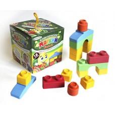 Конструктор мягкий для малышей ( в коробке) 18 деталей (БИПЛАНТ, 11127)