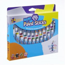 Краски в стиках Little Brian мини, в наборе 24 цвета