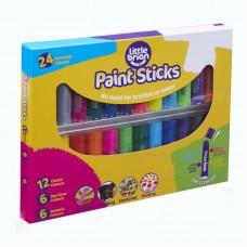 Краски в стиках Little Brian, в наборе 24 цвета