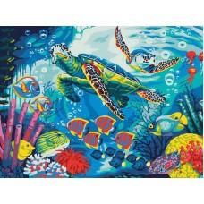 CE134/Тайны океана - картина по номерам