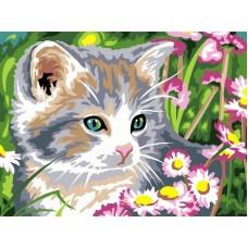 CE137/Котёнок - картина по номерам