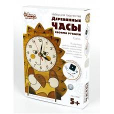 Набор для творчества. Деревянные часы своими руками. Ёжик (Десятое королевство, 01958ДК)