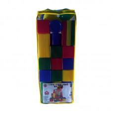 Набор строительный 40 элементов (пакет, высота 62см) (Десятое королевство, 03064ВГ)