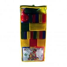 Набор строительный 35 элементов (пакет, высота 56см) (Десятое королевство, 03065ВГ)