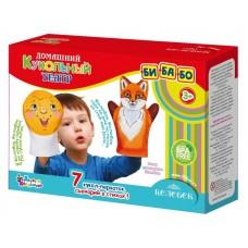 "Театр кукольный домашний ""Колобок"" (7 кукол-перчаток)"