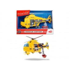 Вертолет спасательный со светом и звуком, 18см