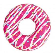 Круг надувной Пончик (42.5x11.75x108 см. 30см в диаметре)
