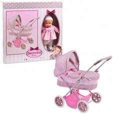 Классическая коляска с куклой 36 см