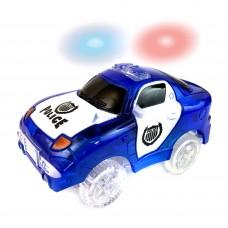 Дополнительная светящаяся полицейская турбо-машинка Magic Tracks
