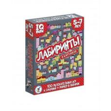 Игра настольная (карточная) Лабиринты. 5-7 лет