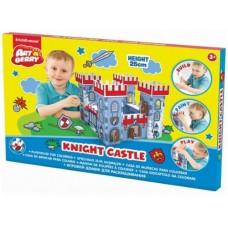 Домик игровой для раскрашивания РЫЦАРСКАЯ КРЕПОСТЬ/Knight Castle/карт. короб. (ErichKrause, 39256)