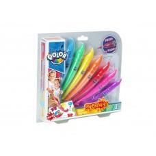 Краски акриловые, в наборе 7 цветов, блистер-упаковка. (FIVE STARS, 500-17)
