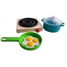 "Посуда с плитой ""Летний"" 30х14х6 см."