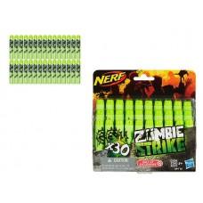 NERF Комплект 30 стрел для бластеров Зомби