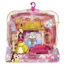 DISNEY PRINCESS. Набор игровой маленьких кукол с обстановкой в ассоортименте, S19