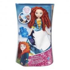 DISNEY PRINCESS. Модная кукла. Принцесса в юбке с проявляющимся принтом (Рапунцель, Золушку, Мериду)