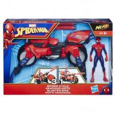 SPIDER-MAN. Фигурка Человек-Паук и транспорт.