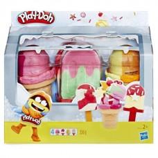 PLAY-DOH. Игровой набор PLAY-DOH холодильник к с мороженым