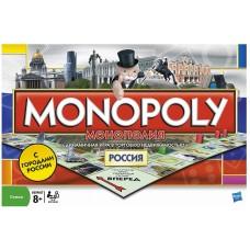 Игра Монополия РОССИЯ (HASBRO, 01610H-no)