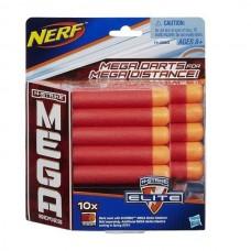 NERF Комплект 10 стрел для бластеров МЕГА (HASBRO, A4368EU4)