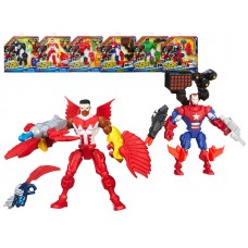 HERO MASHERS Разборные фигурки с оружием (HASBRO, A6833H-ПЦ)