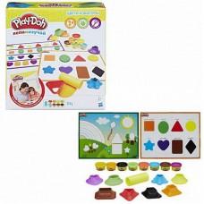 Play-Doh Игровой набор ЦВЕТА И ФОРМЫ (HASBRO, B3404121)