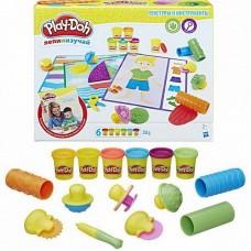 Play-Doh Игровой набор ТЕКСТУРЫ И ИНСТРУМЕНТЫ (HASBRO, B3408121)