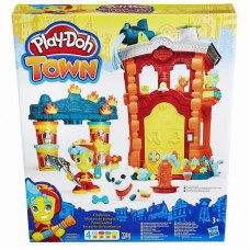 Play-Doh Город Игровой набор Пожарная станция (HASBRO, B3415EU4-no)