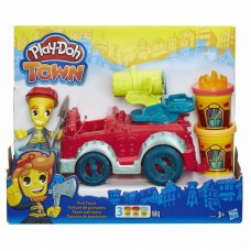 Play-Doh Город Игровой набор Пожарная машина (HASBRO, B3416EU4-no)