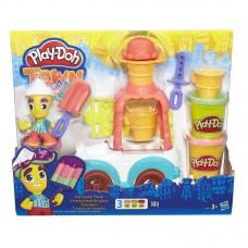 """Play-Doh Город набор """"Грузовичок с мороженым"""" (HASBRO, B3417EU4-no)"""