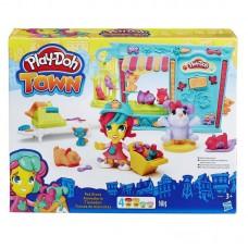 Play-Doh Город, игровой набор Магазинчик домашних питомцев (HASBRO, B3418EU4-no)