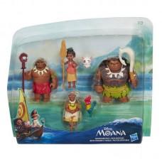 Маленькие куклы Моана - несколько кукол в наборе. MOANA (HASBRO, B8305EU4-ПЦ)