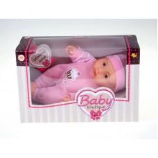 Кукла Baby boutique, 22 см, светло-розовый костюмчик