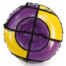 Тюбинг HUBSTER Sport Plus фиолетовый/желтый 105 см. (во4186-1)