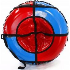 Тюбинг HUBSTER Sport Plus красный/синий 105 см. (во4188-1)