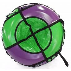 Тюбинг HUBSTER Sport Plus фиолетовый/зеленый 105 см. (во4189-1)
