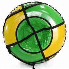 Тюбинг HUBSTER Sport Plus желтый/зеленый 120 см. (во4190-2)