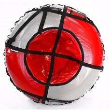 Тюбинг HUBSTER Sport Plus красный/серый 105 см. (во4192-1)