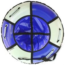 Тюбинг HUBSTER Sport Plus синий/серый 120 см. (во4193-2)