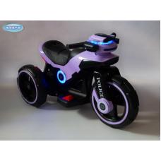Электромотоцикл Barty Y- MAXI Police YM 198 фиолетовый