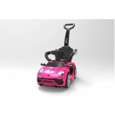 Толокар Barty Lamborghini L001 с электроприводом розовый