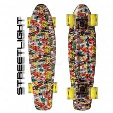 "Скейтборд 22"" TLS-401G Led Print Streetlight"