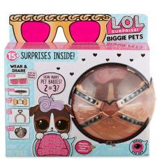 Кукла Лол Большой питомец Собака К9, Декодер LOL Surprise Biggie Pet D.J. K9